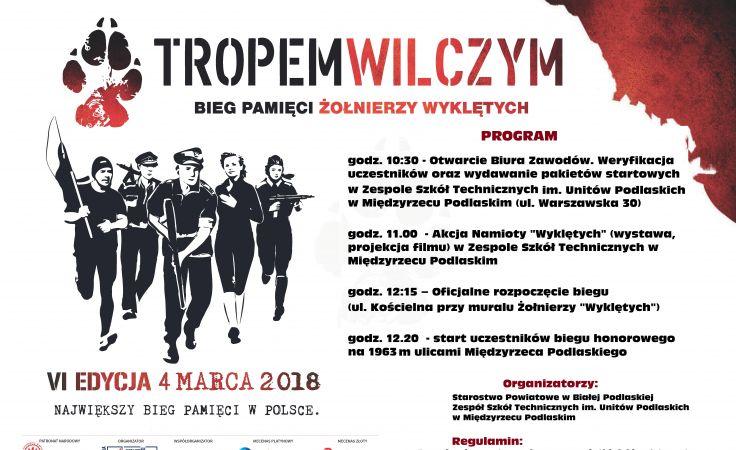 Tropem Wilczym (plakat organizatora)
