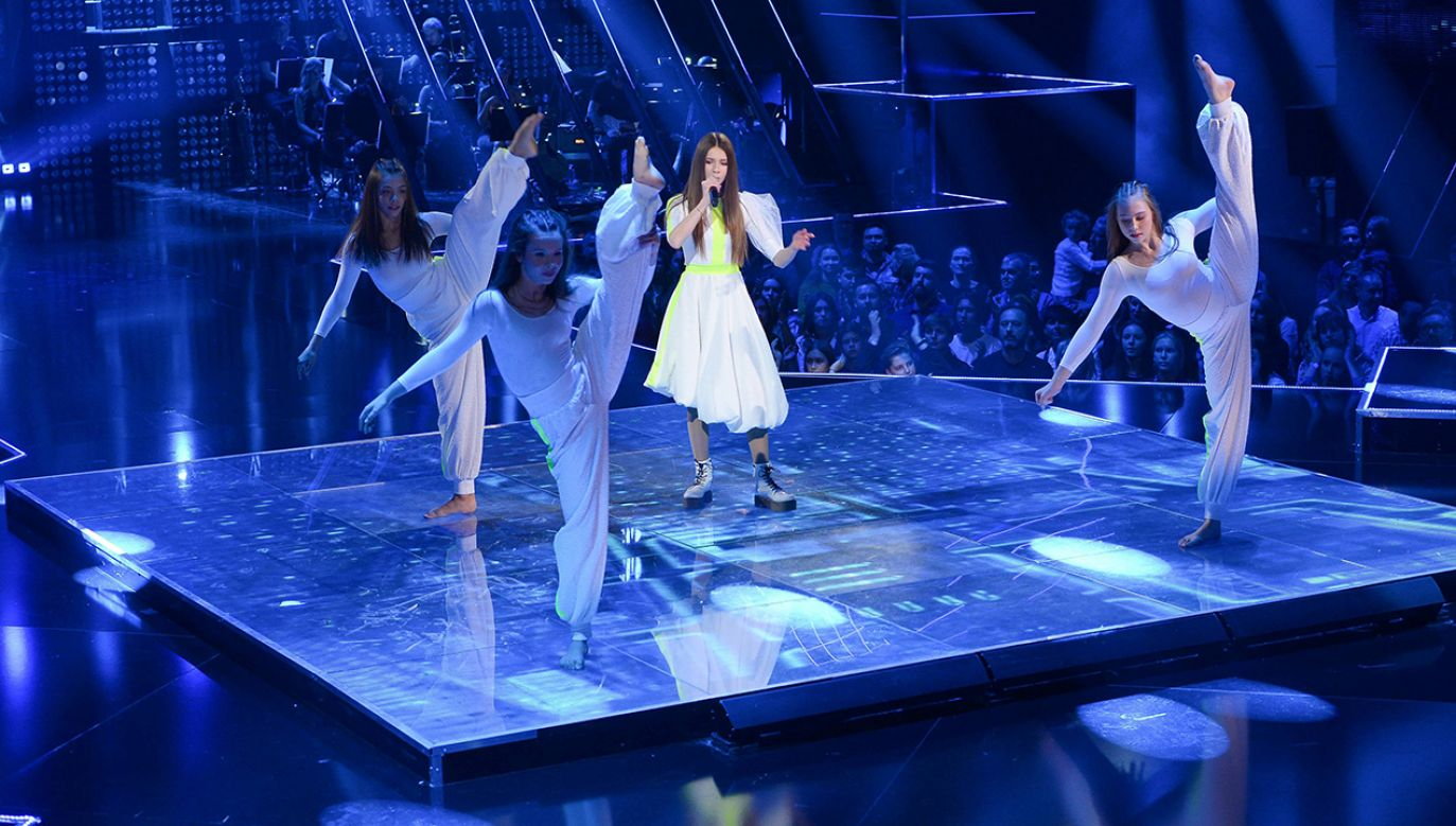 """Pierwsza polska laureatka konkursu """"Eurowizji Junior"""" miała wystąpić w Izraelu z piosenką """"Anyone I Want To Be"""" (fot. arch. PAP/Stach Leszczyński)"""