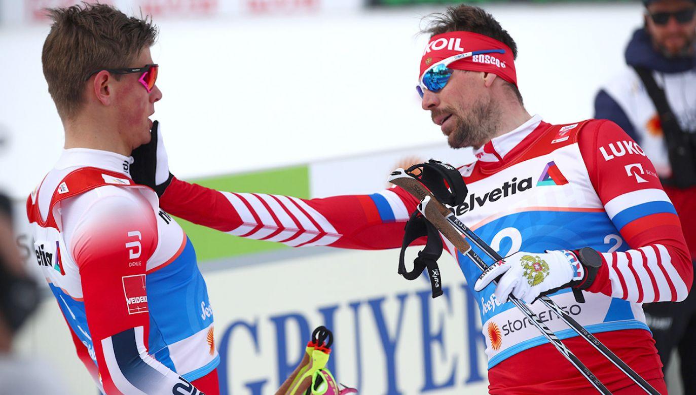 Norweg w biegu finałowym okazał się najlepszy i został mistrzem świata (fot. REUTERS/Lisi Niesner)