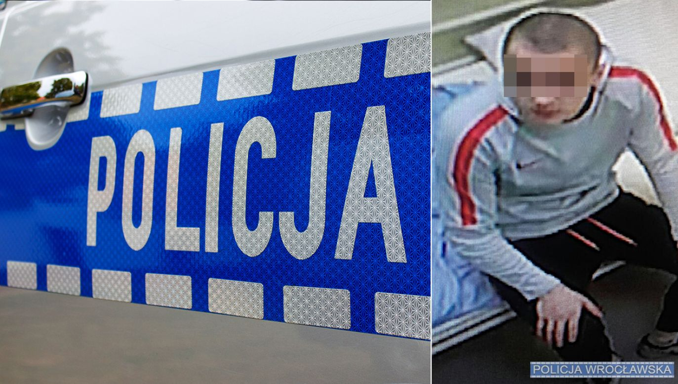 Do zdarzenia doszło w szpitalu klinicznym przy ul. Chałubińskiego (fot. policja wrocławska)