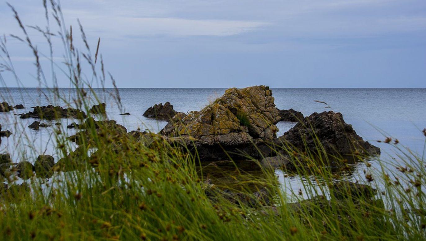 Polska i Dania spierały się o przebieg morskiej granicy na południe od wyspy Bornholm (fot. Pixabay/ThomasJa)