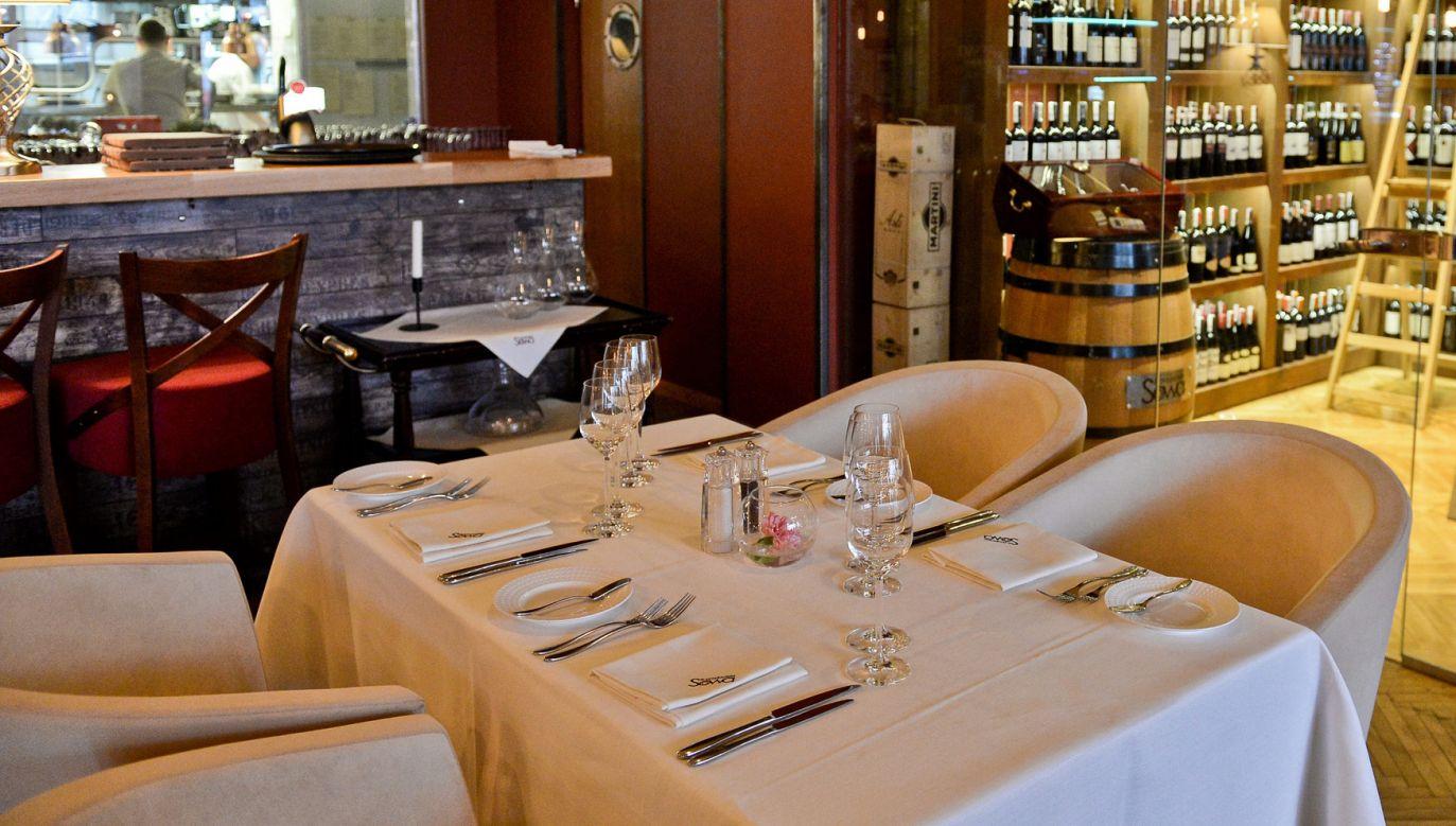 Nagrań dokonano w restauracji Sowa i Przyjaciele (fot. arch. PAP/Marcin Obara)