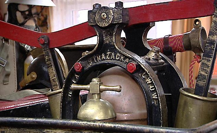 Cenne eksponaty w Izbie Strażackich Pamiątek