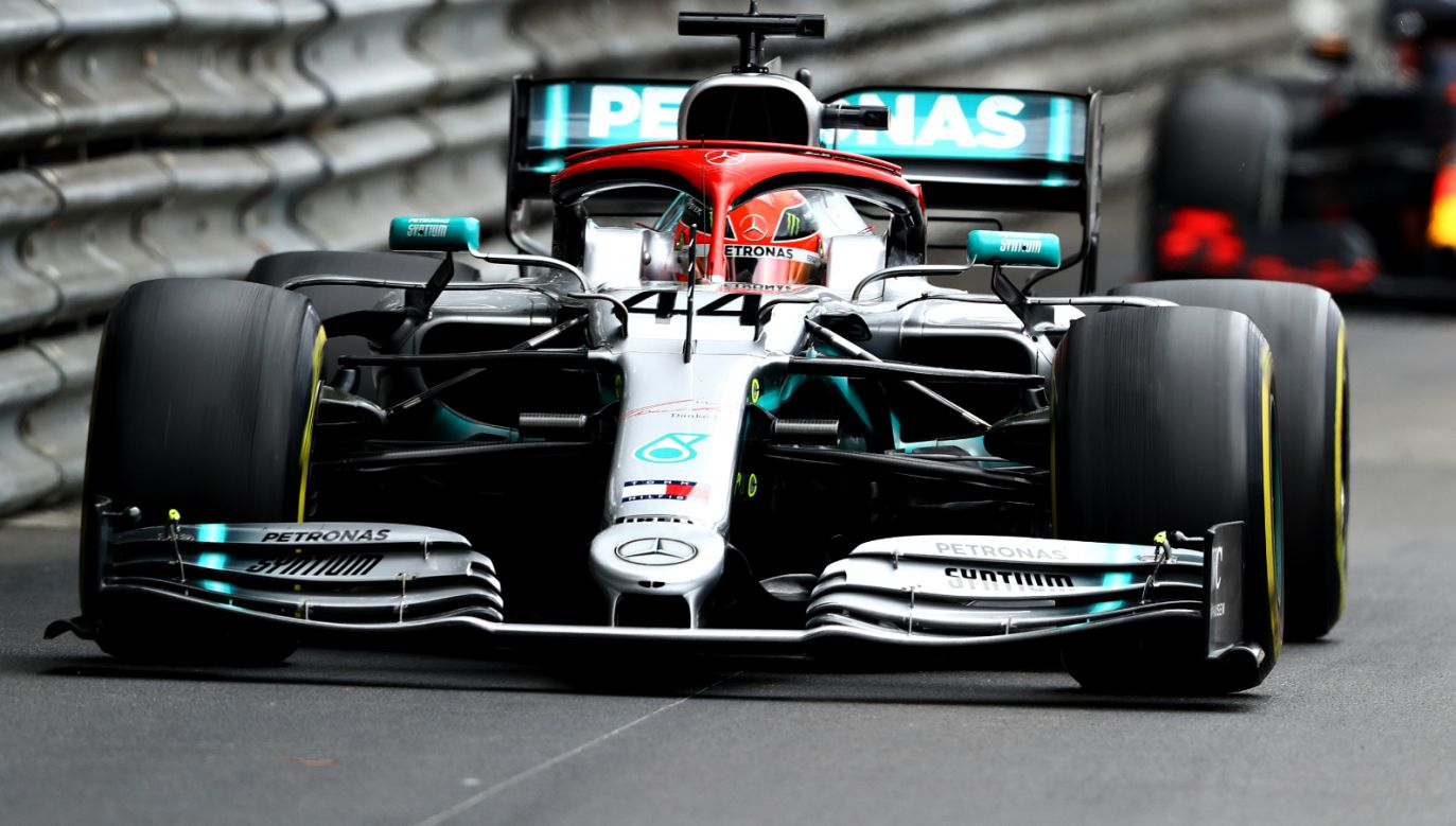 Lewis Hamilton w trakcie Grand Prix Monako (fot. Getty Images)