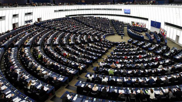 Prace w Parlamencie Europejskim nie zostały przerwane (fot. PAP/EPA/PATRICK SEEGER)