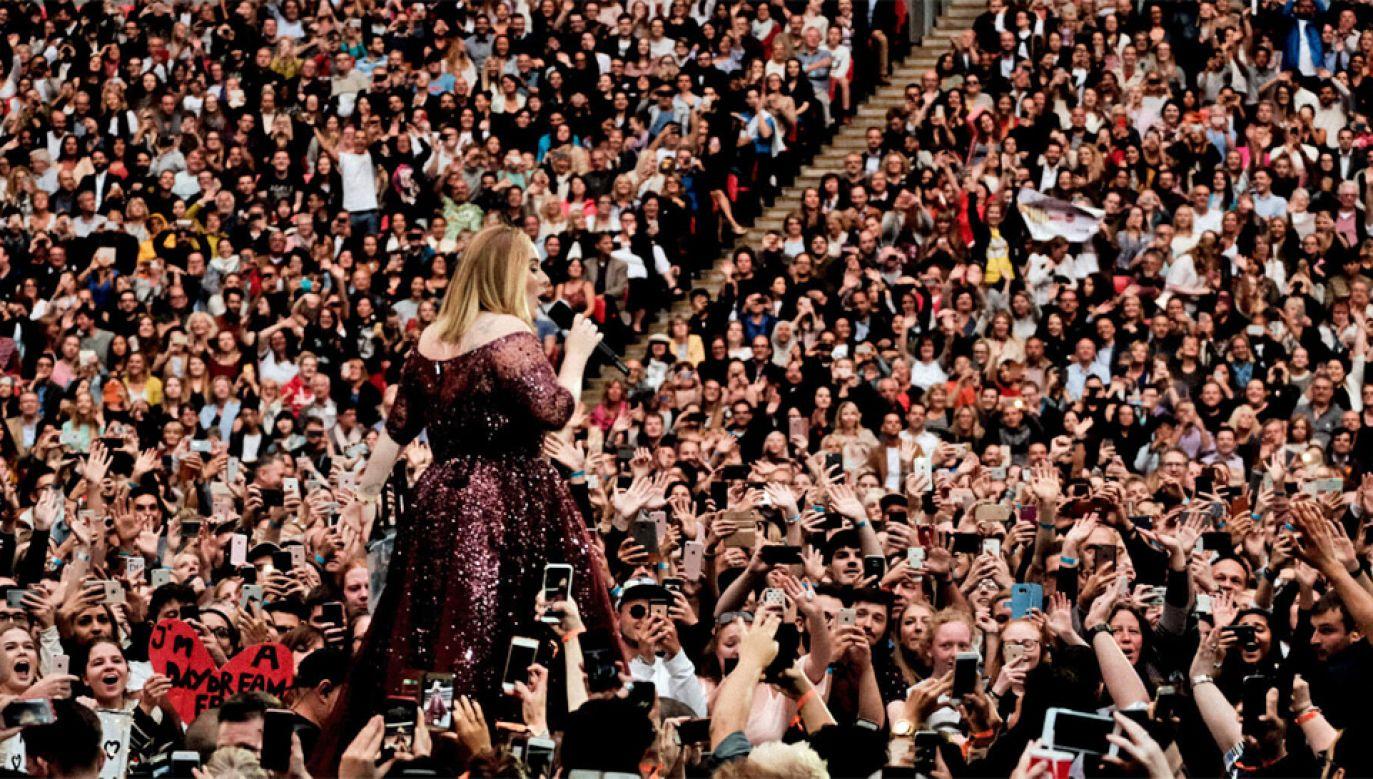 Adele sprzedała ponad 100 mln płyt na całym świecie (fot. mat. pras.)