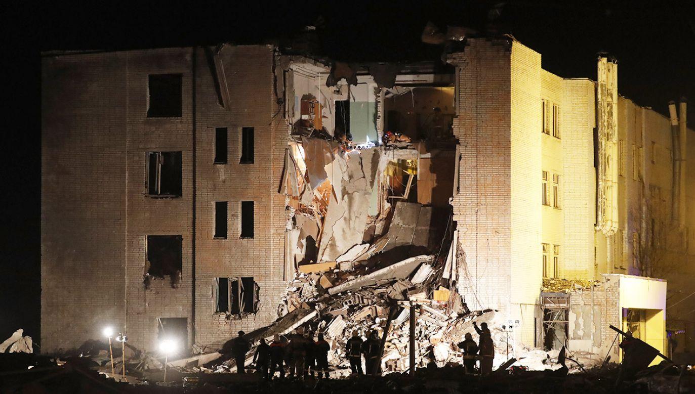 Służby ustalają przyczyny tragedii (fot. PAP/EPA/ANATOLY MALTSEV)