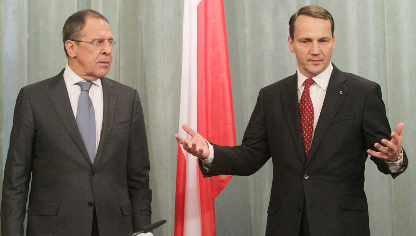 """""""Jedynym pomysłem opozycji na polską dyplomację jest pusty hejt""""(fot. PAP/EPA/SERGEI CHIRIKOV)"""