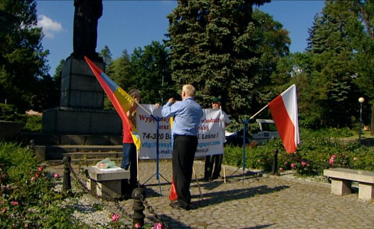Sprzeciwiają się niszczeniu pomników i rujnowaniu cmentarzy