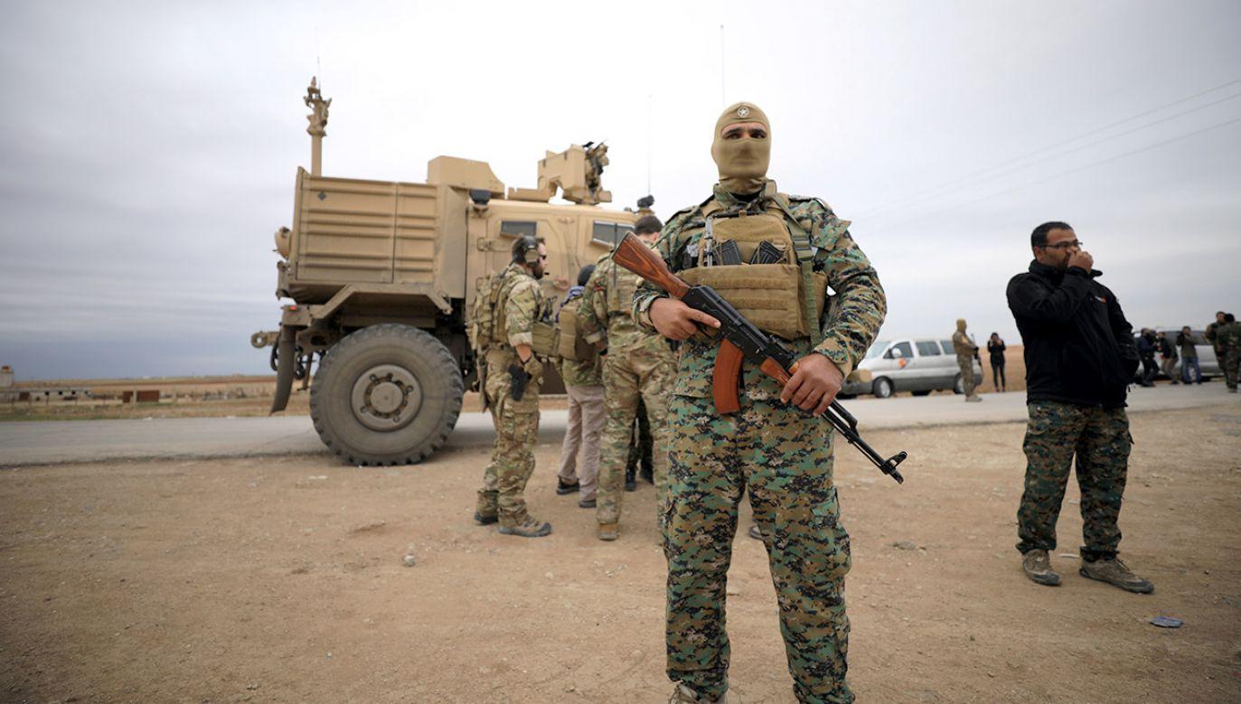 Szef Pentagonu wezwał do powiększenia frontu walki z IS (fot. REUTERS/Rodi Said)