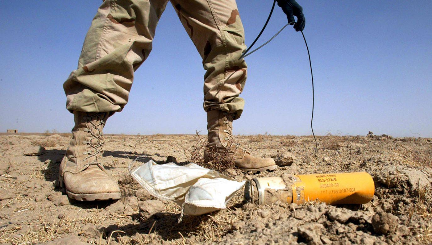 OFAB-250-270 to powszechnie stosowane uzbrojenie lotnicze (fot. Joe Raedle/Getty Images)