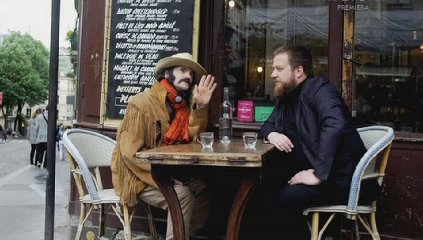 Aldo Vegas jest ulubieńcem Montmartre'u, dzielnicy paryskiej bohemy (fot. TVP Kultura)