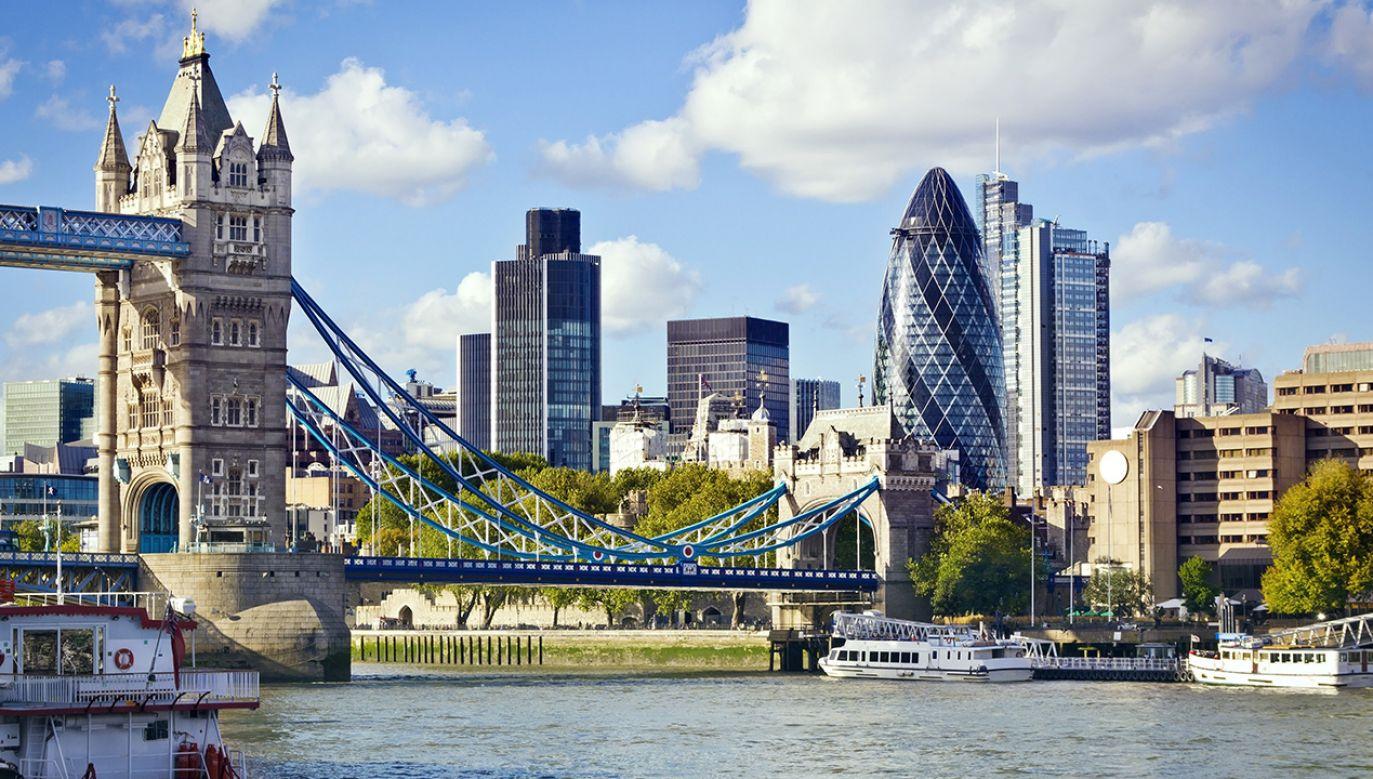 Rosyjscy oligarchowie ukrywają w Londynie swoje pieniądze (fot. Shutterstock/QQ7)