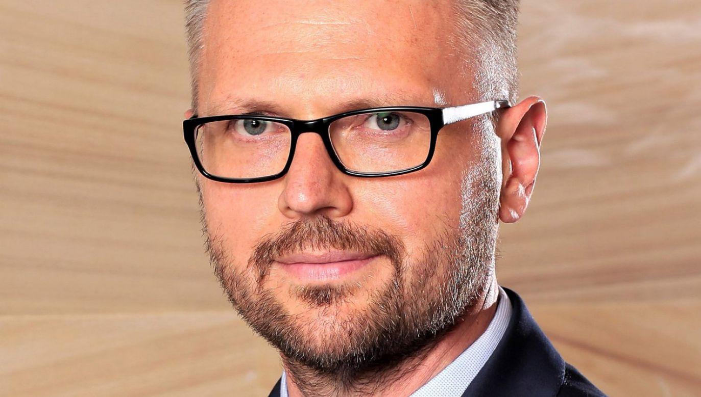 Maciej Biernat (fot. tt/@PWPW_SA)
