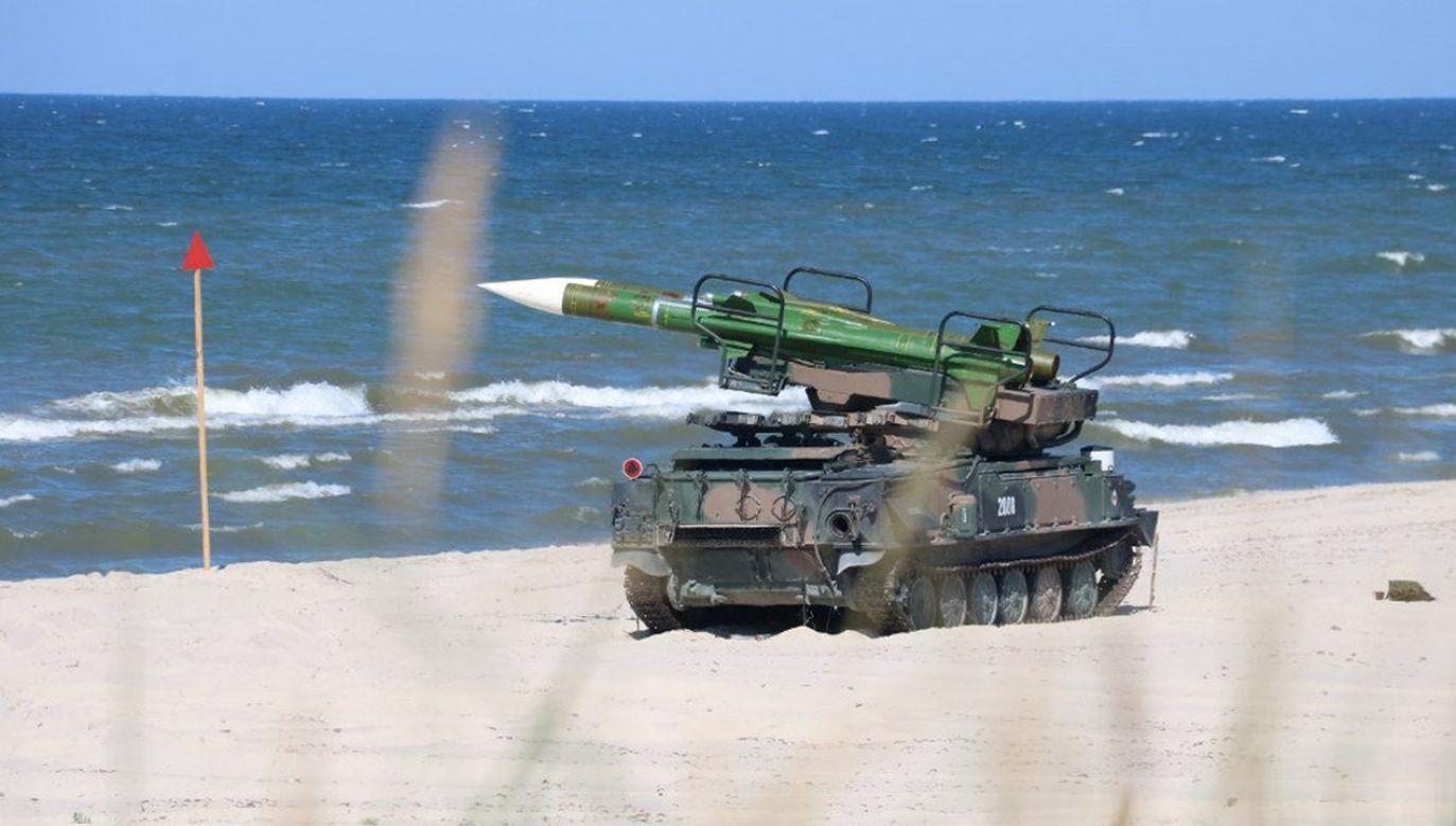 27 czerwca na poligonie w Ustce odbyły się strzelania bojowe z zestawów rakietowych znajdujących się na wyposażeniu
