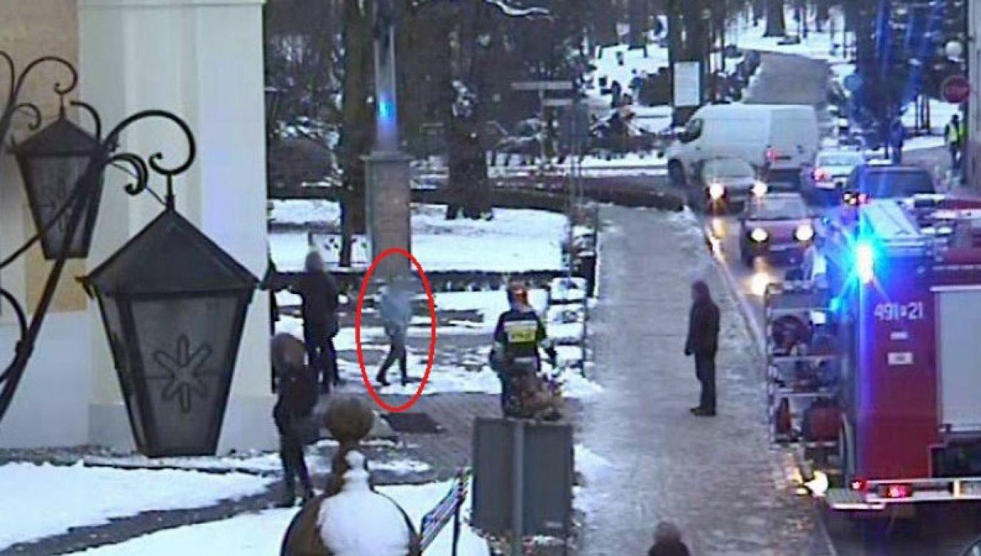 Prawdopodobnie ten sam chłopak podłożył tydzień temu ogień w kruchcie kościoła w Krotoszynie (fot. KPP Krotoszyn)