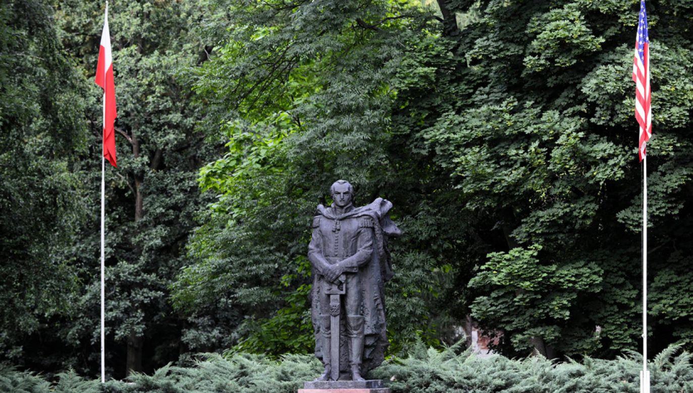 Gen. Kazimierz Pułaski jest otoczony czcią w USA i w Polsce (fot. arch.PAP/Jakub Kamiński)