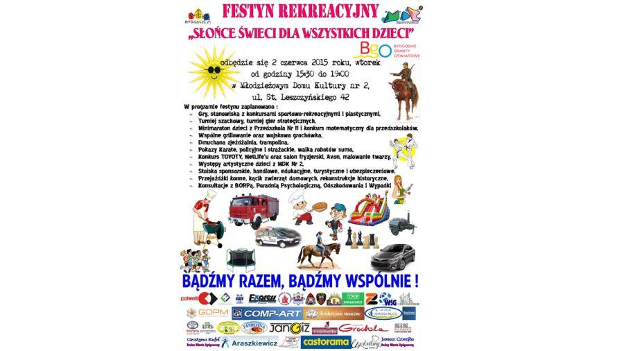 Festyn Rekreacyjny Słońce świeci Dla Wszystkich Dzieci Tvp3