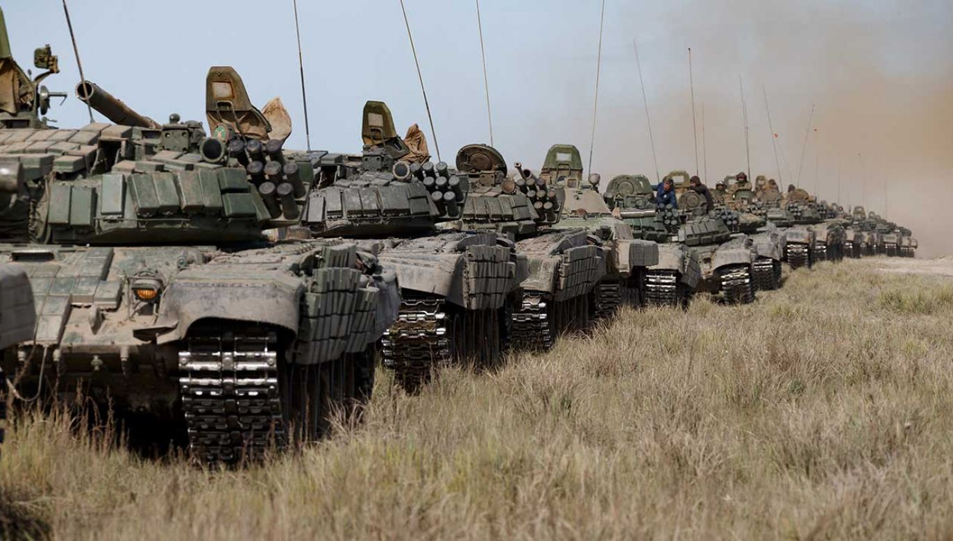Rosyjskie czołgi T-72B (fot. Vadim Savitsky\TASS via Getty Images)