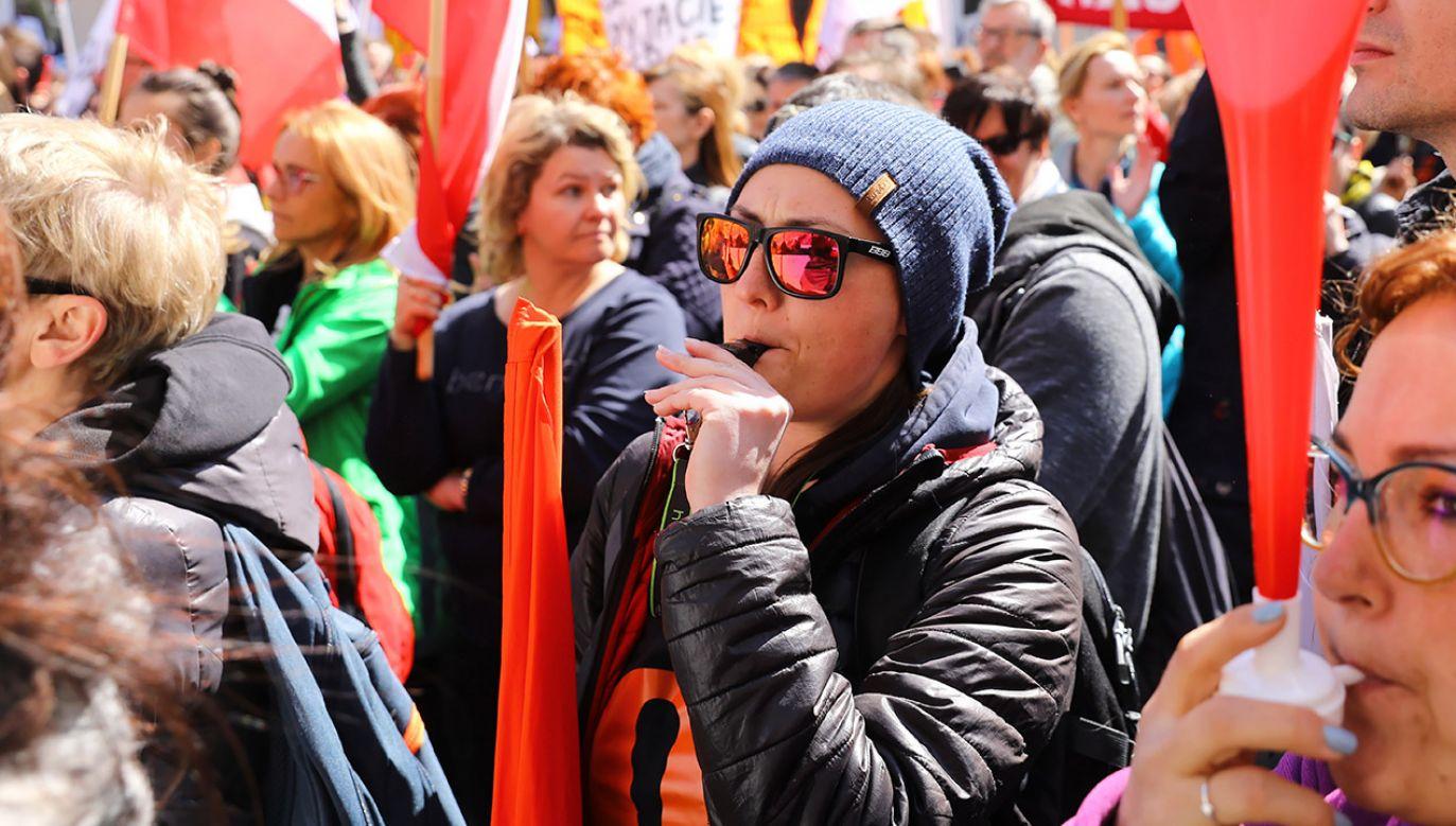 Mieliśmy wolę walki, byliśmy w bojowych nastrojach – twierdzą uczestnicy strajku (fot. PAP/Rafał Guz, zdjęcie ilustracyjne)