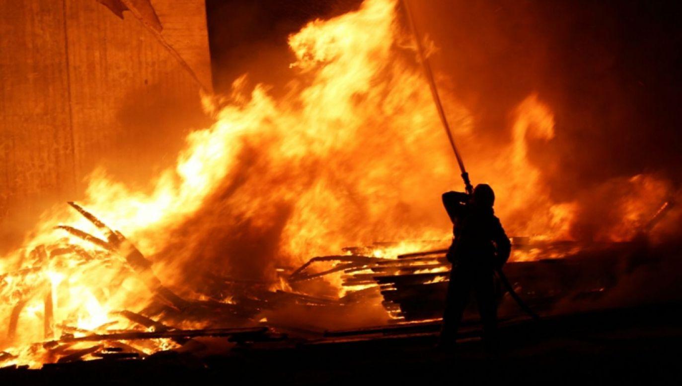 Strażacy oszacowali straty na 80 tys. zł (fot. PSP)