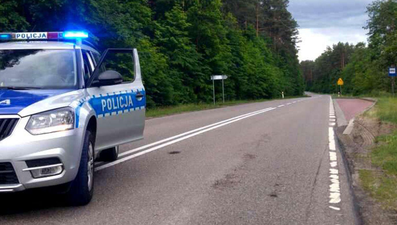Policja bada okoliczności zdarzenia (fot.policja.pl)