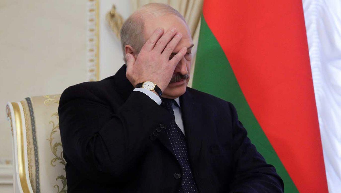 Prezydent Białorusi Alaksandr Łukaszenka (fot. REUTERS/Dmitri Lovetsky/Pool)