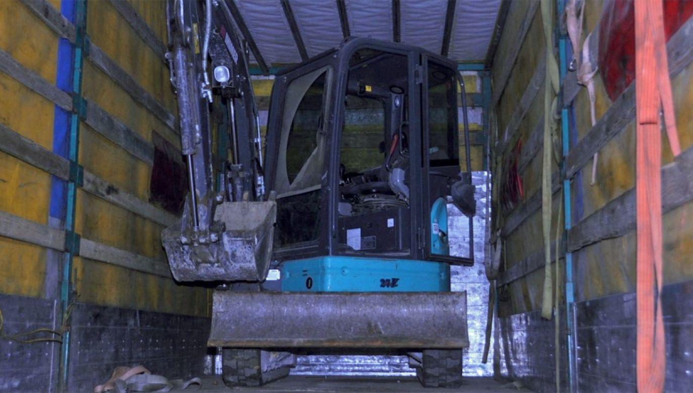 Mikrokoparkę skradziono dwa miesiące temu we Włoszech (fot. SG)