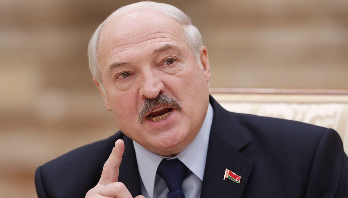 Prezydent Białorusi stwierdził, że dla jego kraju niezależność jest rzeczą świętą (fot. PAP/EPA/VASILY FEDOSENKO / POOL)