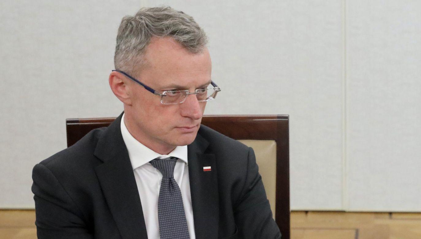 Ostrożnie z Rosją – ostrzega Marek Magierowski (fot. PAP/Tomasz Gzell)
