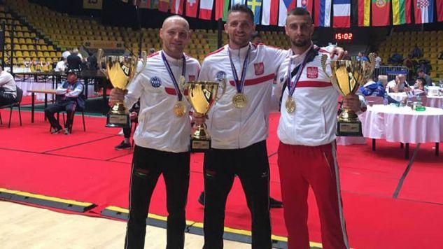 Od lewej: Łukasz Puczyński, Piotr Wypchał, Michał Grzesiak (fot. facebook)