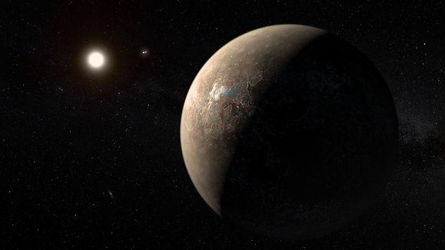 Hipotetyczna planeta Proxima Centauri c może mieć warunki zbliżone do ziemskich (fot. ESO)