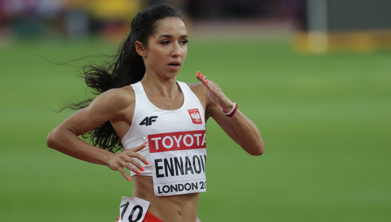 Sofia Ennaoui w Berlinie chce zatrzeć złe wspomnienia z mistrzostw świata w Londynie (fot. PAP/Bartłomiej Zborowski)