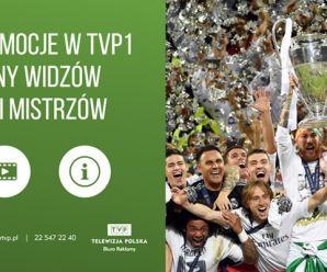 3 miliony widzów finału Ligi Mistrzów w TVP1