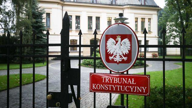 O tym, w jakim zakresie prawo UE jest zgodne z polskim prawem i konstytucją, decyduje Trybunał Konstytucyjny (fot. arch.  PAP/Radek Pietruszka)