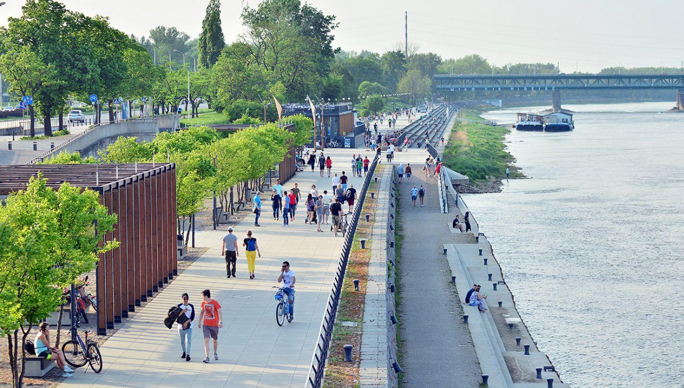 Warszawa zachwyciła amerykańską autorkę  (fot. Shutterstock/Grand Warszawski)