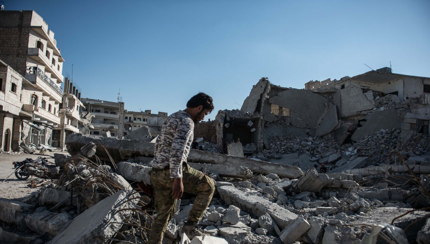 According to the Syrian Human Rights Observatory, since the beginning of the conflict in 2011 around 21,500 people were killed in Aleppo and its suburbs. Photo: Kerem Kocalar/Anadolu Agency/Getty Images
