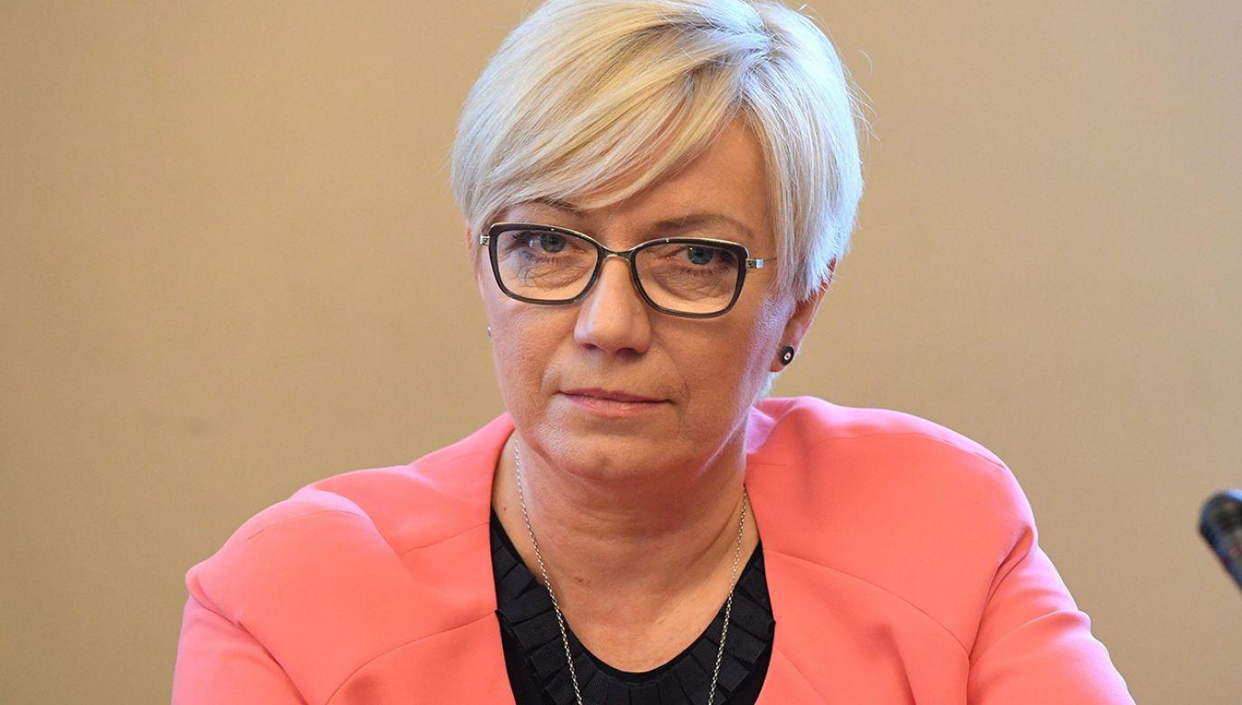 Prezes Trybunału Konstytucyjnego, sędzia Julia Przyłębska (fot. arch. PAP/Radek Pietruszka)