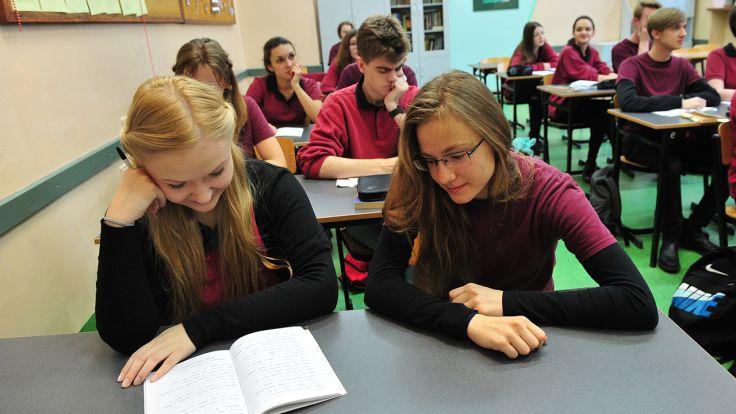 XIII Liceum Ogólnokształcące ze Szczecina wygrało Ranking Liceów Ogólnokształcących (fot. arch/PAP/Marcin Bielecki)