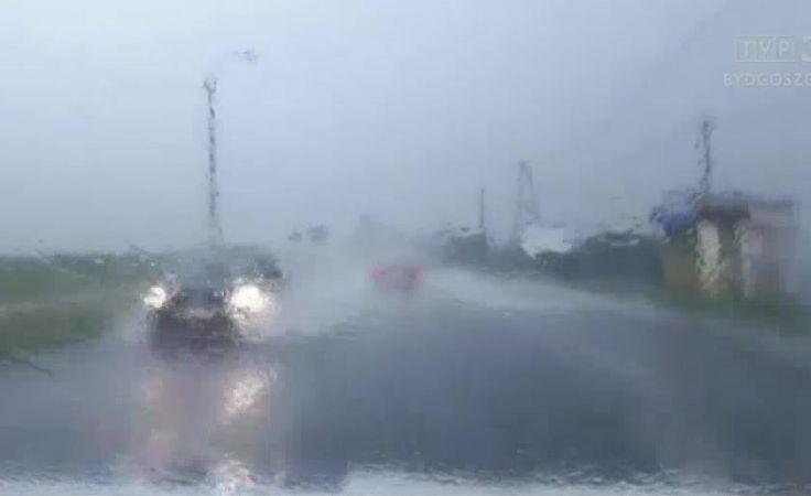 Meteorolodzy ostrzegają nadal przed intensywnymi deszczu