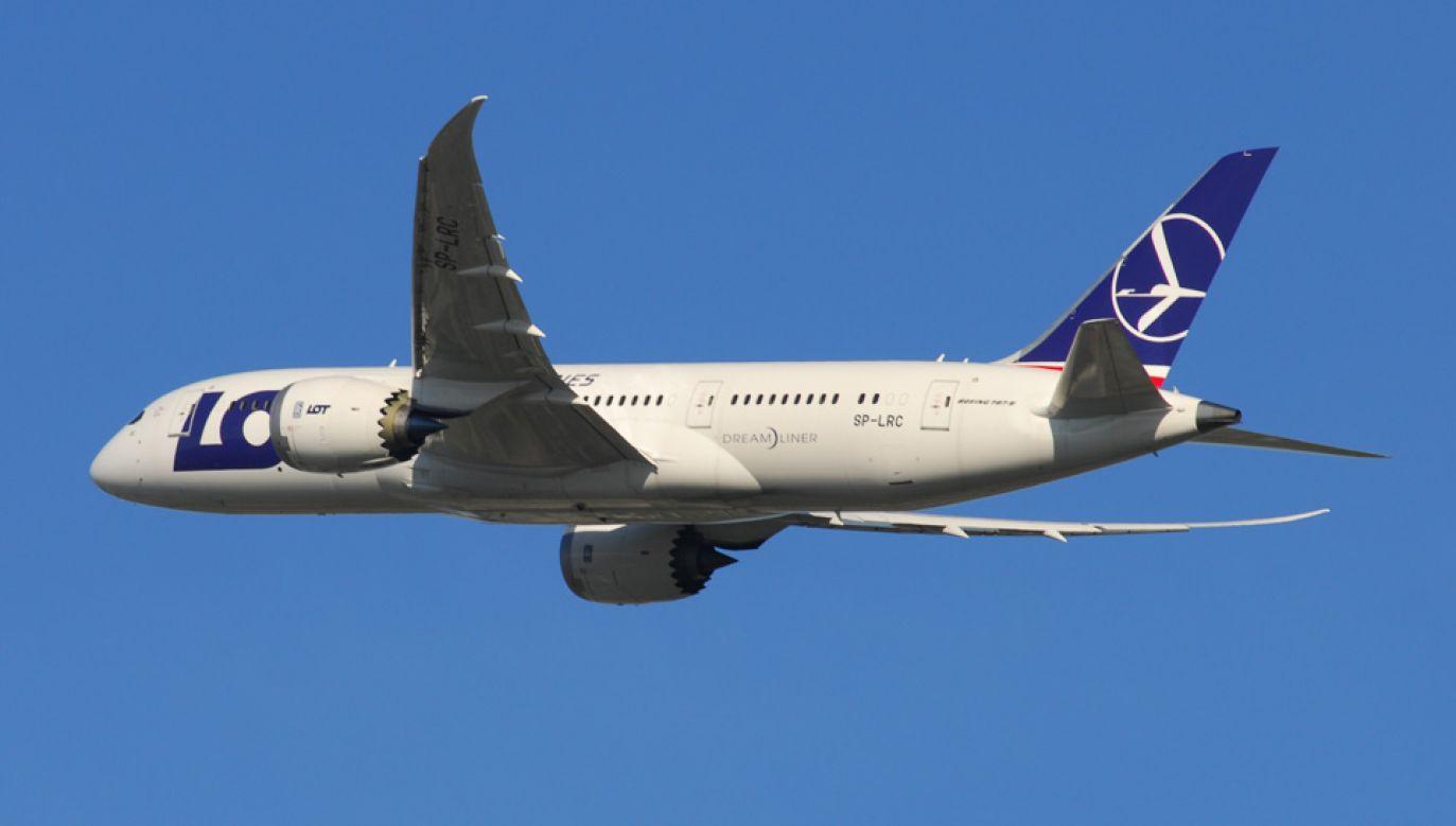 PLL LOT inwestują w nowoczesne samoloty (fot. Wiki/Lord of the Wings)