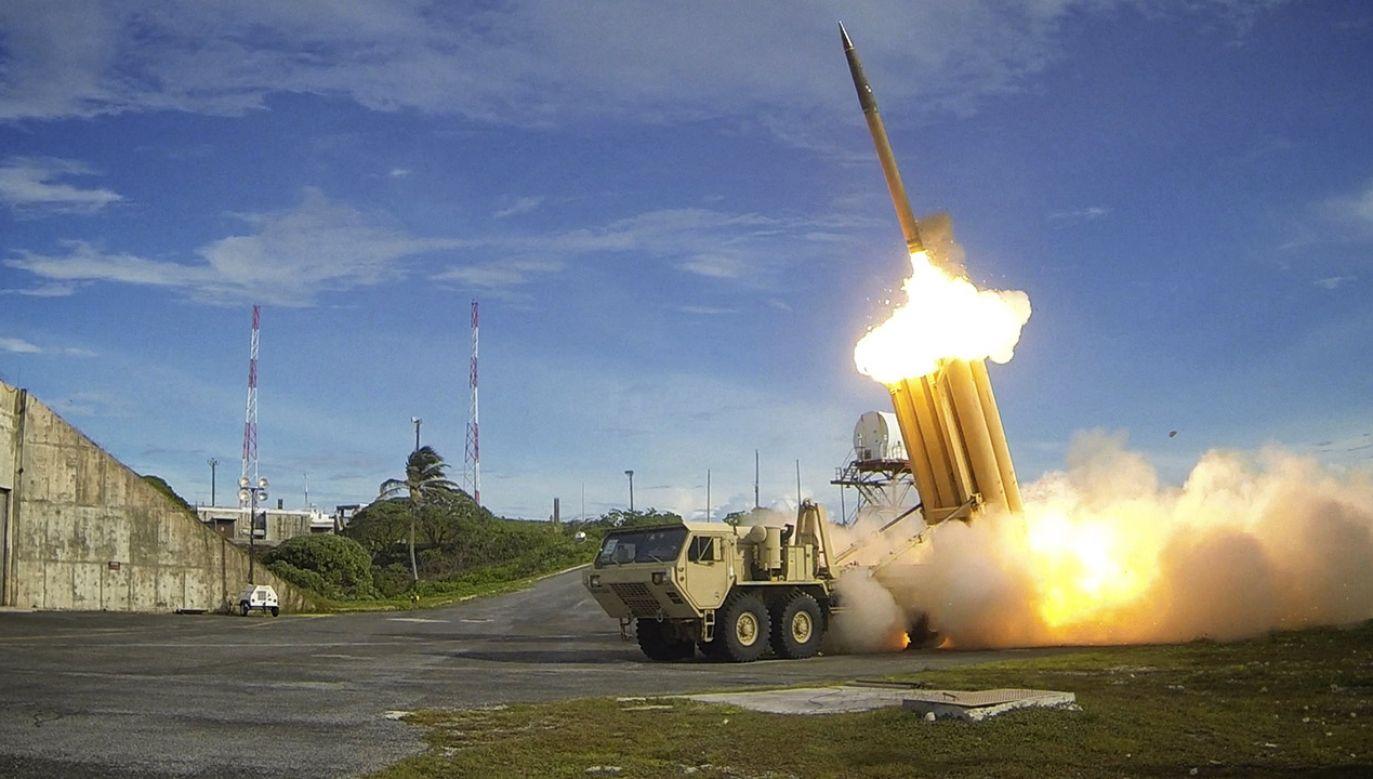 """Według Moskwy, amerykańska strategia jest równoznaczna z reaktywacją programu """"Gwiezdnych Wojen"""" z okresu zimnej wojny (fot. Missile Defense Agency/Handout via Reuters)"""