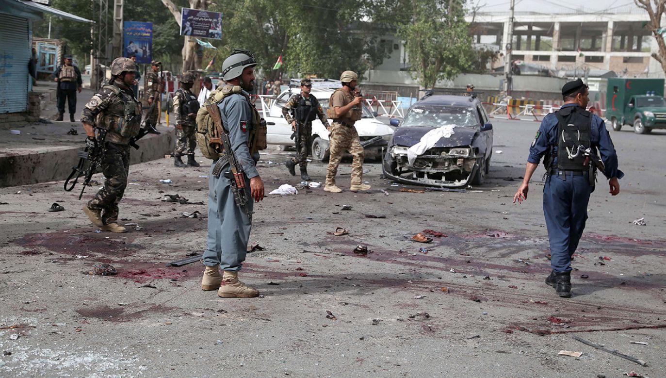 Talibowie walczą z międzynarodowymi siłami pod dowództwem NATO w Afganistanie  (fot. PAP/EPA/GHULAMULLAH HABIBI)